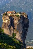 Varlaam monastery at Meteora in Trikala region in summer, Greece — Stock Photo