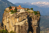 The Monastery of the Holy Trinity (1475), Meteora, Greece — Stock Photo
