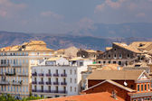 View from castle to Corfu-Town Kerkyra in Greece — Stock Photo