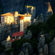 Roussanou Monastery at Meteora Monasteries in Trikala region, Gr — Stock Photo