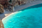 Porto Katsiki beach at Lefkada island, Greece — Stock Photo