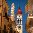Стоковое фото: Church of Saint Spyridon of Trimythous, Kerkyra, Corfu island, G