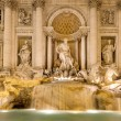 View of Trevi Fountain by night, Rome, Italy. — Stock Photo #35895813