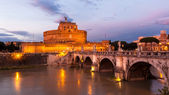 Castle sant angelo, Rome Landmark — Stock Photo