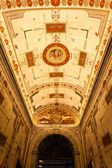 Vatican museums hallway, Rome Italy — Stock Photo