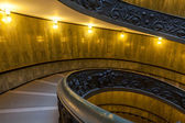 Bramante Staircase, exit stairs from Vatican City — Stock Photo