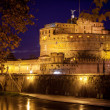 View of Castel Sant'Angelo, Rome. — Stock Photo