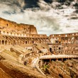 Stock Photo: Inside of Colosseum in Rome, Italy