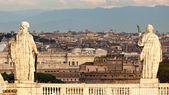 Detalhe arquitectónico de san pietro praça, roma, itália — Foto Stock