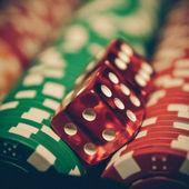 Vintage zar - casino — Stok fotoğraf