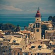 Church of Saint Spyridon of Trimythous, Corfu Town, Greece - vin — Stock Photo