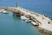 The harbour of Kyrenia, Cyprus — Stock Photo