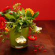 Stock Photo: Bunch of wilted flowers