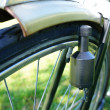 Bicycle dynamo - Stock Photo