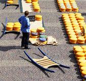 Alkmaar peynir pazarı — Stok fotoğraf