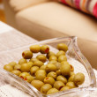 Filled green olives — Stock Photo