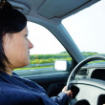 Driving woman — Stock Photo #13634145