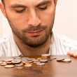 Man and money — Stock Photo #13695523