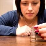 Counting money — Stock Photo #13869254