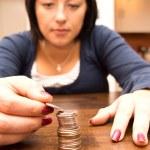 Counting money — Stock Photo #13869263