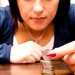 Counting money — Stock Photo #13869306