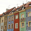 Colored houses - Stock Photo