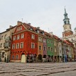Stock Photo: Old market in Poznan