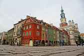 Old market in Poznan — Stock Photo