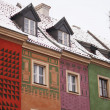 Colored houses — Stock Photo