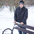 Man with winter clothes — Stock Photo #16875025