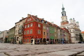 Old market of Poznan — Stock Photo