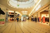 Shopping center in Poznan before closing time — Stock Photo