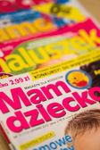 Maternity magazines — Stock Photo