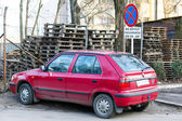 Parked Skoda Felicia — Stock Photo