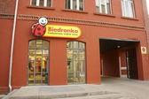 Supermarket in Poznan — Stock Photo