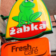 Zabka store — Stock Photo