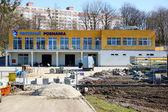 Kajak club building construction — Stock Photo