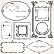 Decorative Vector Frame - Stock Vector