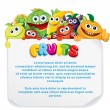 Royalty-Free Stock Obraz wektorowy: Fun Fruit Sign