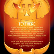 Halloween Pumpkin Background - Stock Vector