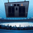 Stock Vector: Hockey Stadium