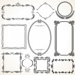 Vettoriale Stock : Ornamental Frames