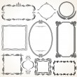 Ornamental Frames - Stock Vector