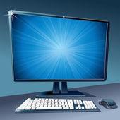 Modern Computer — Stock Vector