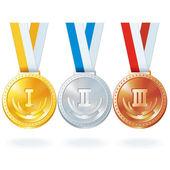 Vector Medals — Stock Vector
