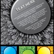 Royalty-Free Stock Vektorgrafik: Abstract Template Vector Set