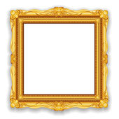 Gold Vintage Frame Eps10 — Stock Vector