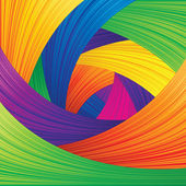 Multicolored Abstract Vector Background — Stock Vector