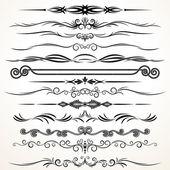 векторный орнамент дизайна — Cтоковый вектор