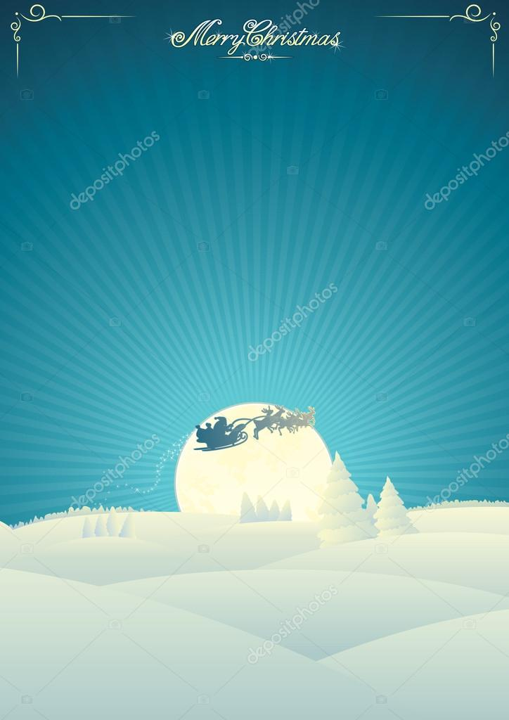 Vector Christmas Card  Stock Vector #14099816